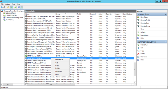 Configuring Windows Systems for Monitoring with SNMP