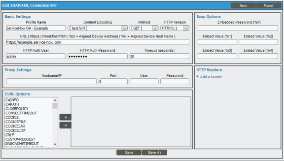Configuring ServiceNow for Monitoring