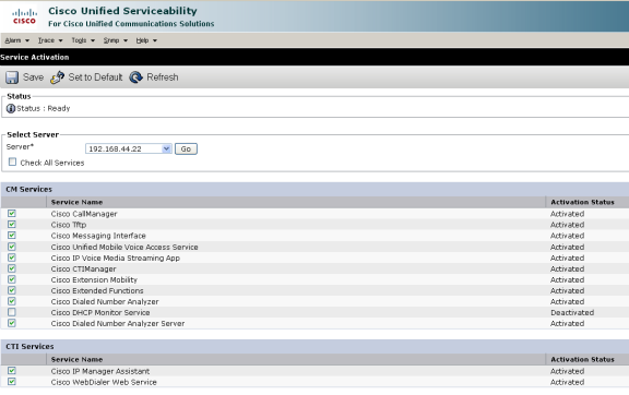 Chapter 2  Monitoring Cisco Unified Communications Manager
